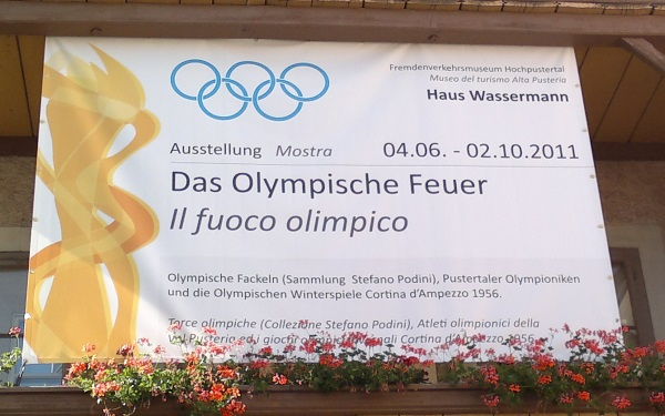 Il fuoco olimpico - Das olympische Feuer - The olympic fire