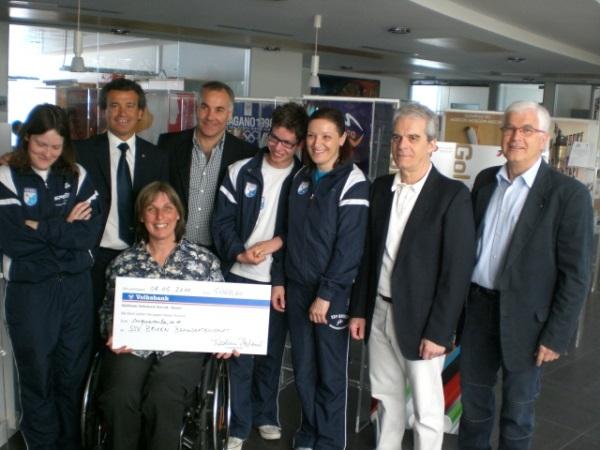 L'Olympic Aid sostiene l'SSV Brixen - L'Olympic Aid unterstützt SSV Brixen - Olympic Aid fordert SSV Brixen